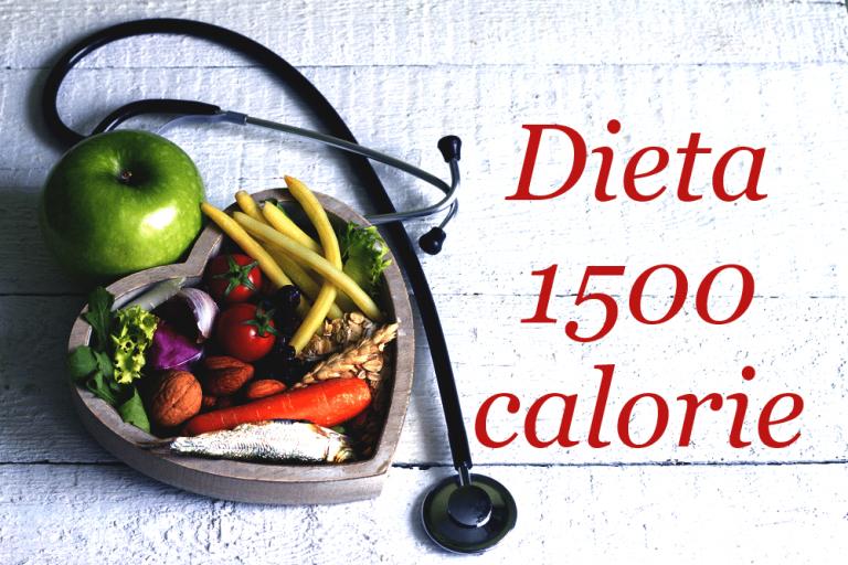 Dieta 1500 calorie