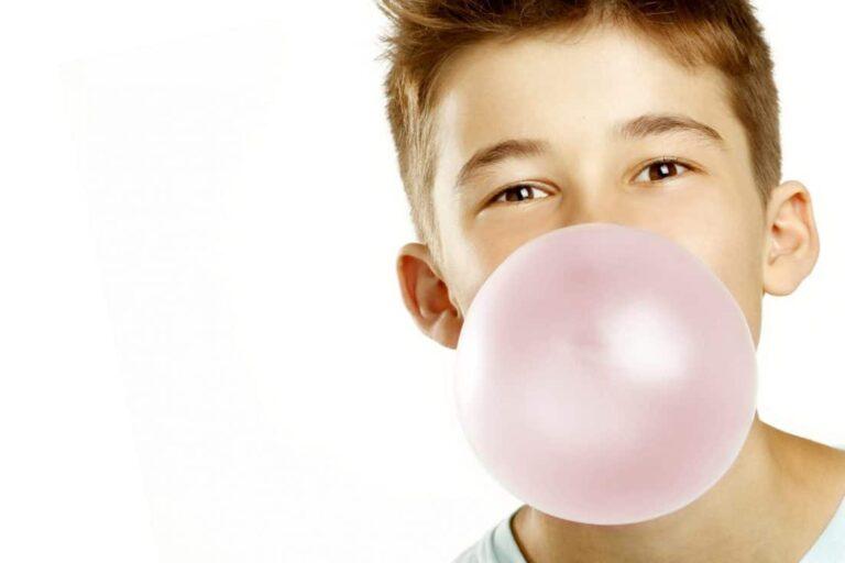 La gomma da masticare fa male