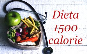 Dieta 1500 calorie, un esempio di dieta dimagrante